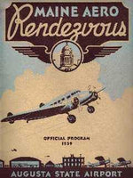 1939 Maine Aero Rendezvous, Official Program