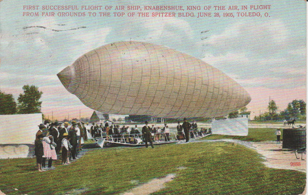 Knabenshue Airship Record Flight - 1905