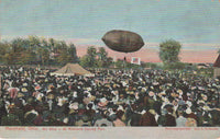 Airship at Richland County Fair, Mansfield, Ohio - 1909