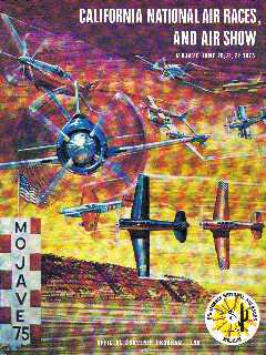 1975 California National Air Race Program, Mojave