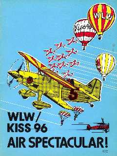 1981 WLW/KISS 96 Air Spectacular Program