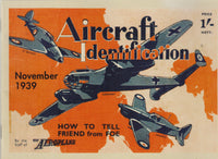Aircraft Identification - 1939