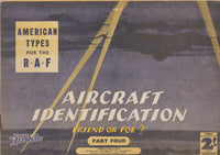 "Part 4: Aircraft Identification ""Friend or Foe?"", American Types for the R.A.F. - 1941"