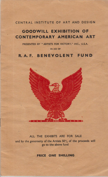 WWII R.A.F. Art Exhibit Program