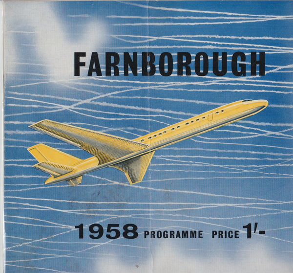 Farnborough Programme - 1958