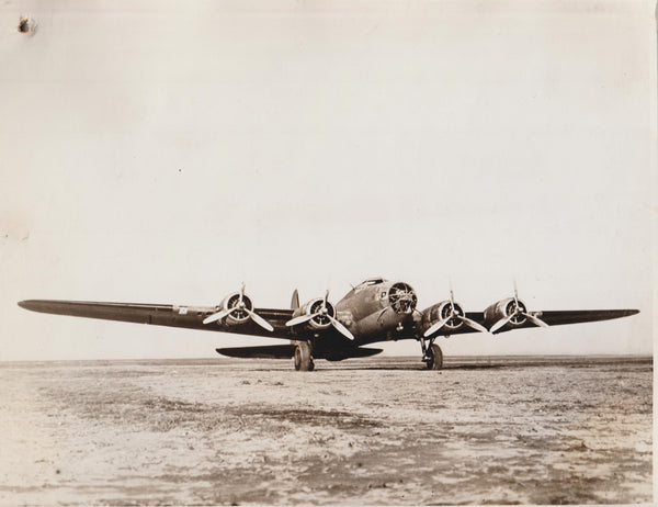 Vintage Original WWII Photo - Boeing B-17C