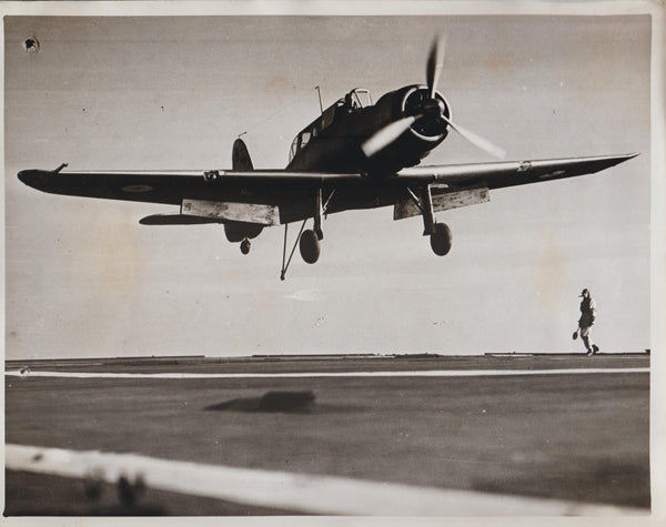 Vintage Original WWII Photo - Blackburn Skua