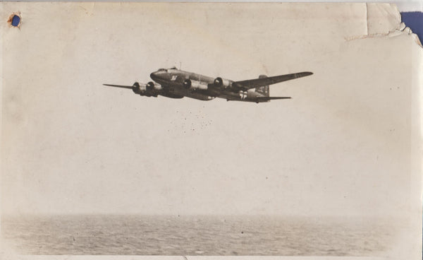 Vintage Original WWII Photo - German FW-2000 Condor