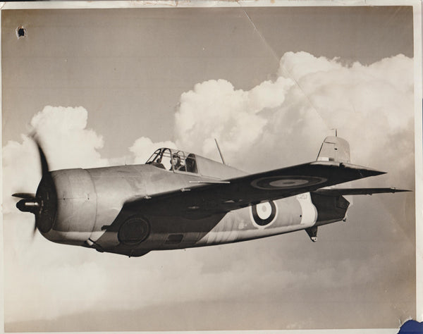 Vintage Original WWII Photo  - Grumman Martlet (USN F4F-3)