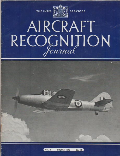 Four Issues,  Aircraft Recognition Journal - 1949 to 1955