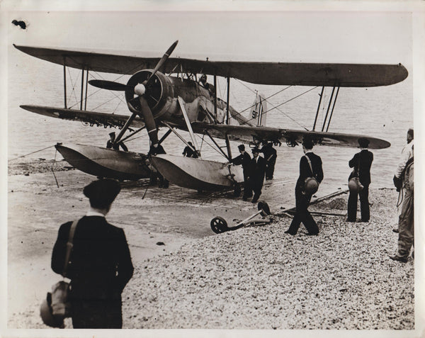 Vintage Official WWII Photo - Fairey Swordfish