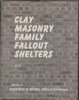 Clay Masonry Family Fallout Shelters - 1960