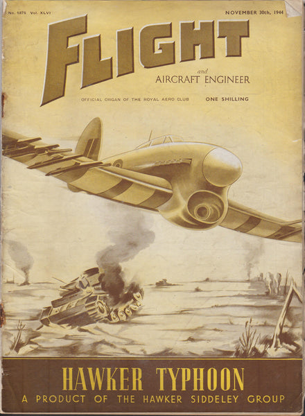 Four Issues, FLIGHT Magazine - 1944 to 1958