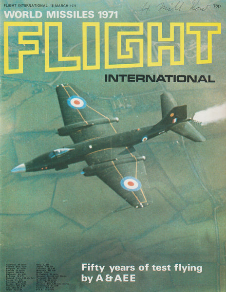 """World Missiles 1971"", Flight International Magazine - 18 Mar 1971"
