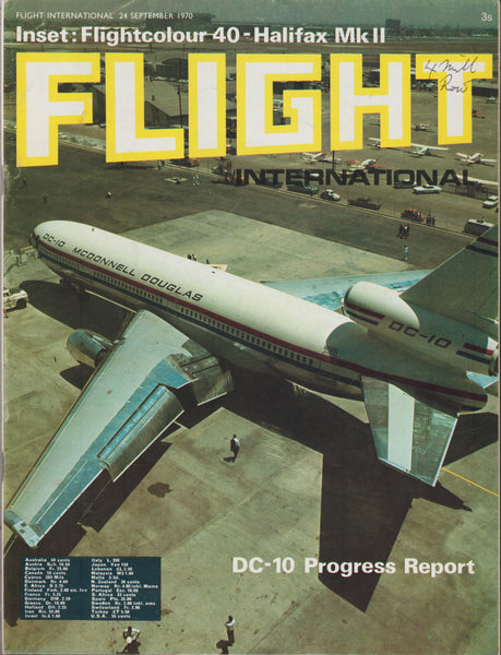 Jumbo Jet Progress, Two Issues of Flight International - 1970