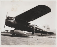 Lockheed Air Express Press Photo - circa 1934