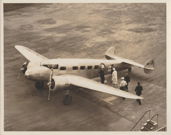 Northwest Airlines Lockheed Electra Photo - circa 1934