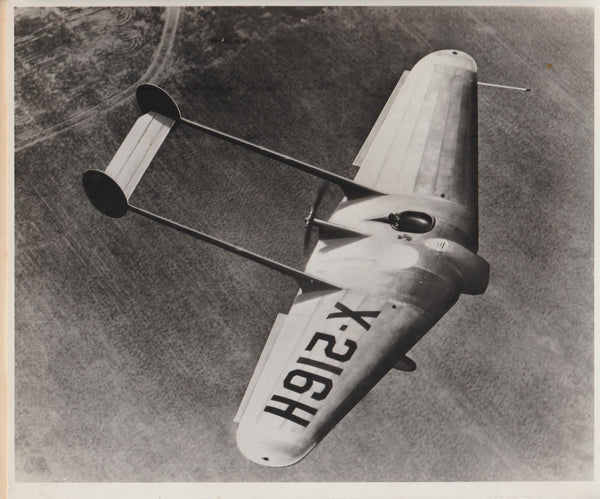 First Northrup Flying Wing Press Photo - 1929