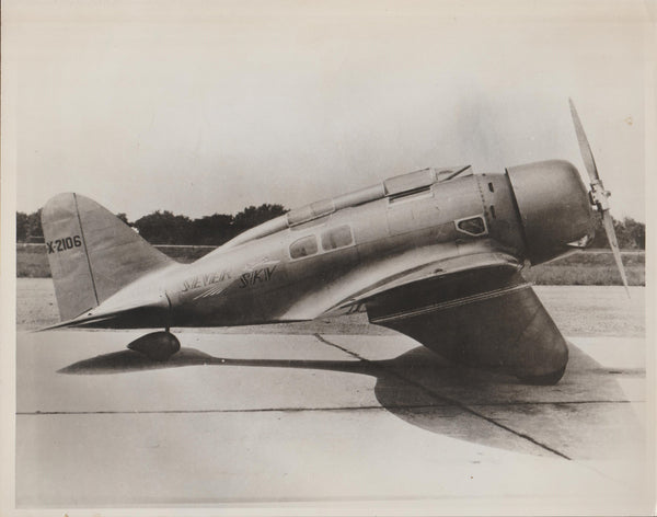 Seversky SEV-3XAR Photo - circa 1933