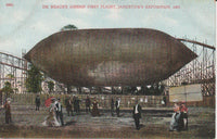 Dr. Beach's Airship First Flight, Jamestown Exposition, 1907