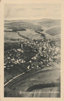 Aerial Photo Postcard from a Zeppelin