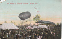 Airship at State Fair, Sedalia, Missouri - circa 1910