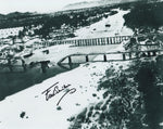 Signed WWII Photo - Fred Seiker, Bridge Over the River Kwai POW