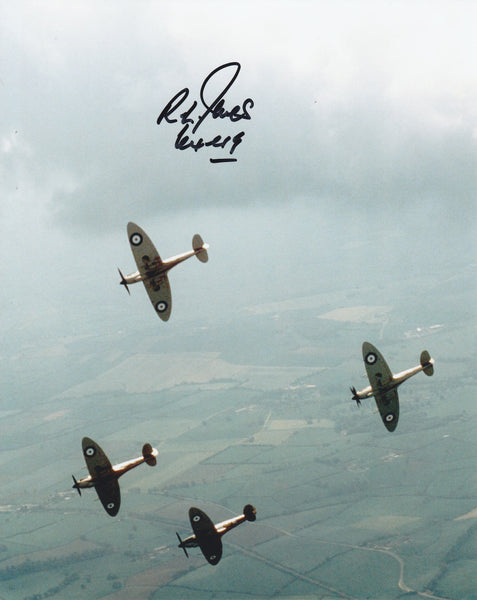 Signed Photo by WWII RAF Pilot R.L. Jones, No. 64 Sqdn