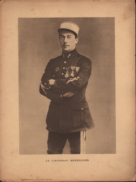 Le Lieutenant Mezergues - WWI French Pilot