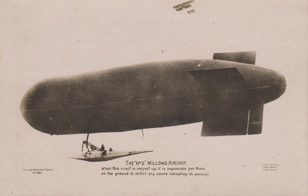 Willows No. 5 Airship - circa 1910