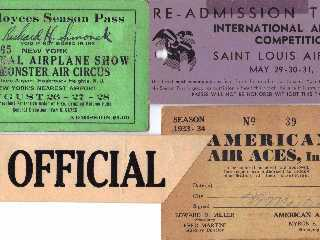 Air Show Passes, Four Different