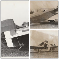 Rare Loening R-4 Racer Photo Lot - circa 1922