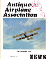 ANTIQUE AIRPLANE ASSOCIATION News - 8 Bound Volumes