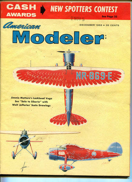 American Modeller - 9 issues - 1950's to 1960's