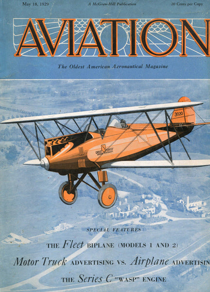 Aviation - 18 issues - 1927 to 1936