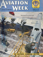 "Aviation Week - Air Materiel Command Edition - Aug 16, 1954 ""Maintaining the H-Bomb Fleet"""