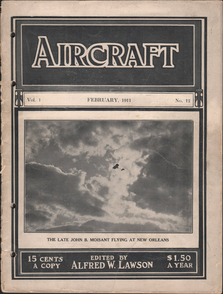 Aircraft Magazine - Feb 1911.