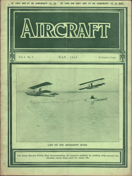 Aircraft Magazine - May 1913