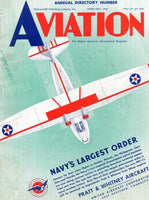 Aviation Annual (Directory) - 8 issues, 1940-1947