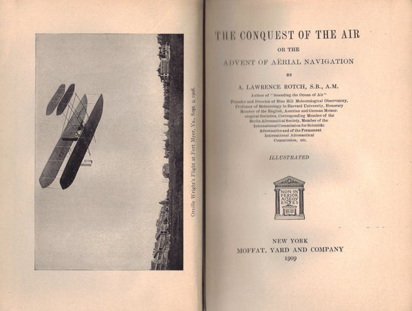 The Conquest of the Air, or the Advent of Aerial Navigation