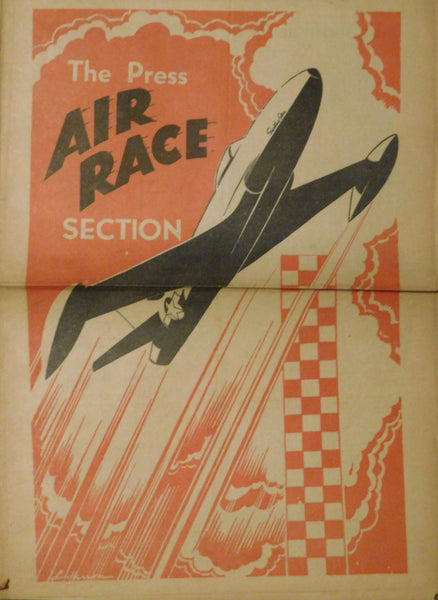 1946 Cleveland Press Air Race Newspaper Insert