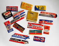 Airline Sticker Lot, 17 - circa 1950's