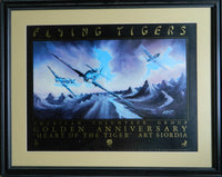 Flying Tiger Golden Anniversary Limited Edition Poster - 1991