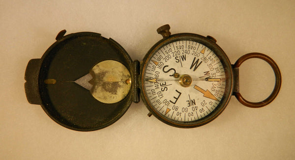 WWI U.S. Engineer Corps Brass Field Compass