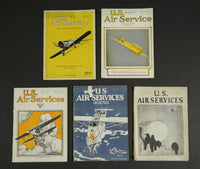 U.S. Air Service Magazine - 5 issues 1923-24
