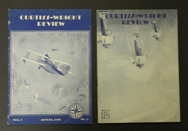 Curtiss-Wright Review Magazine - 1930
