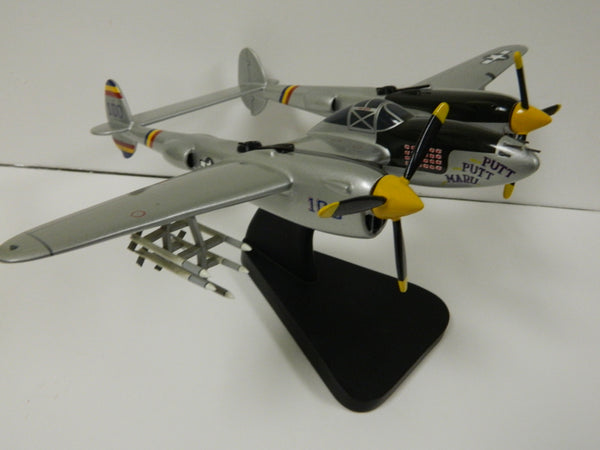 "Custom P-38 Model of the ""Putt-Putt-Maru"""