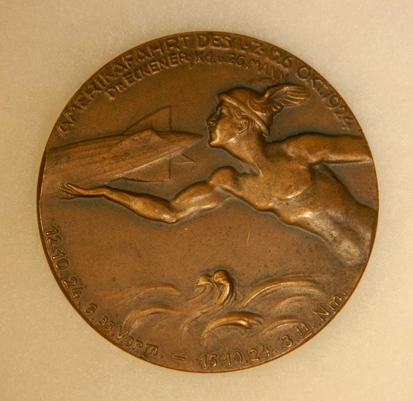 Commemorative Medal, LZ-126/ZR-3/U.S.S. Los Angeles Delivery - 1924