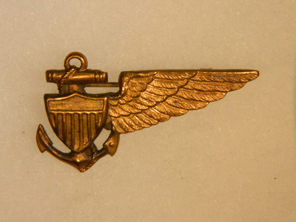 U.S. Navy Airship Pilot Badge - circa 1920