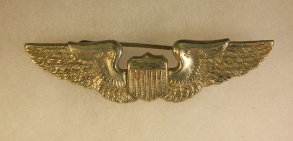 WWII British Pattern USAAF Pilot Wing